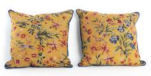 Flowers And Birds Decorative Pillow