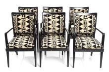 Art Deco Style Arm Chairs