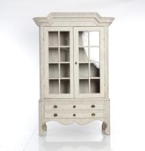 A White-Painted Cabinet