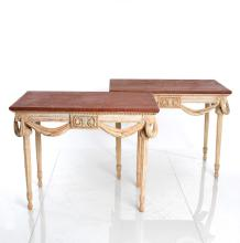 Pair Of Gustavian Console Tables