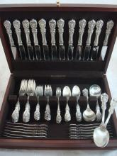 Francis I by Reed & Barton Sterling Silver Flatware Set Old Mark 86 Pieces