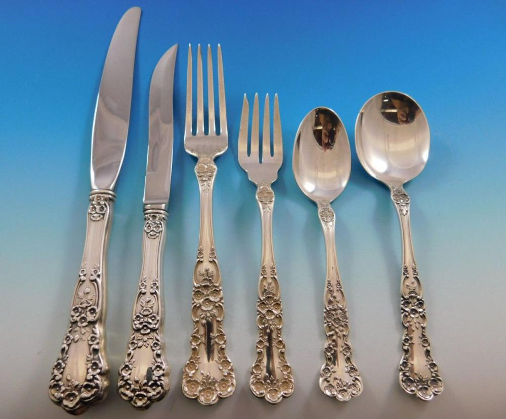 "Buttercup by Gorham Sterling Silver Dinner Fork 7 1//2/"" Flatware"