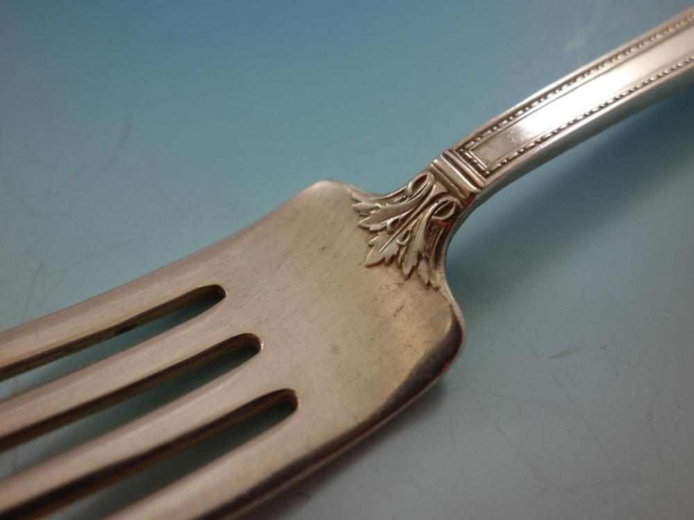 """Pantheon by International Sterling Silver Gumbo Soup Spoon 7 1//8/"""""""