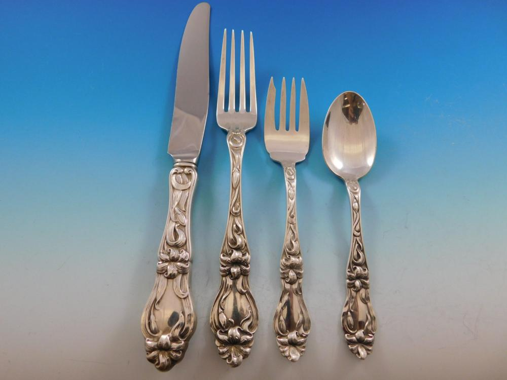 """Lily by Whiting Sterling Silver Cocktail Fork 5 7//8/"""""""