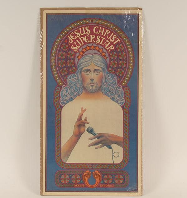 Jesus Christ Superstar Decca Records 1971 poster
