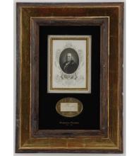 Historic Memorabilia featuring Autographs, Manuscripts & Books