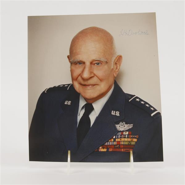 General J. H. Doolittle, signed photograph