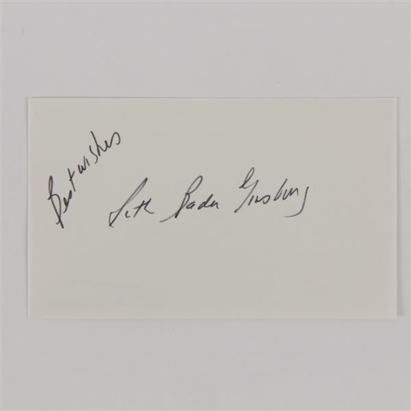 Justice Ruth Bader Ginsburg signature