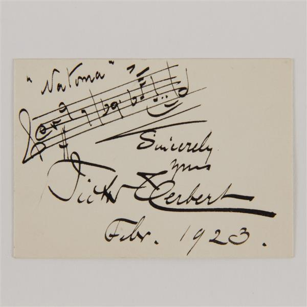Victor Hubert (1859-1924) Signature; 1923.