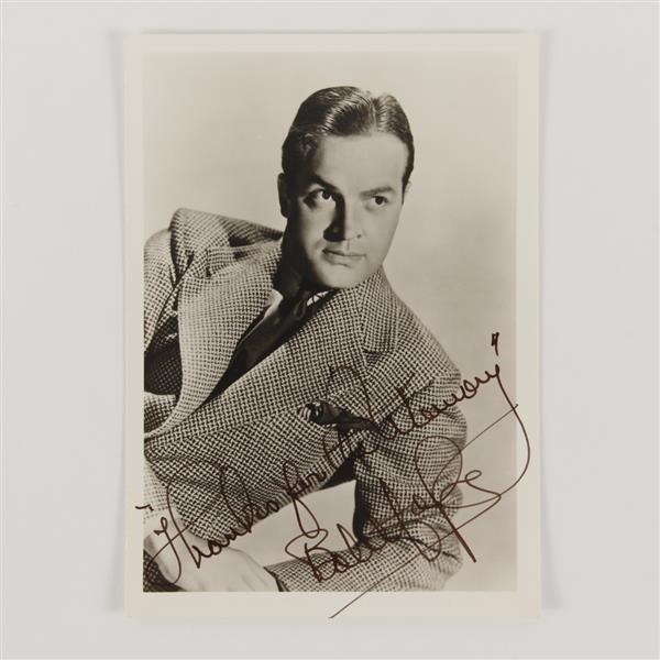 Bob Hope (1903-2003) Signed Photo