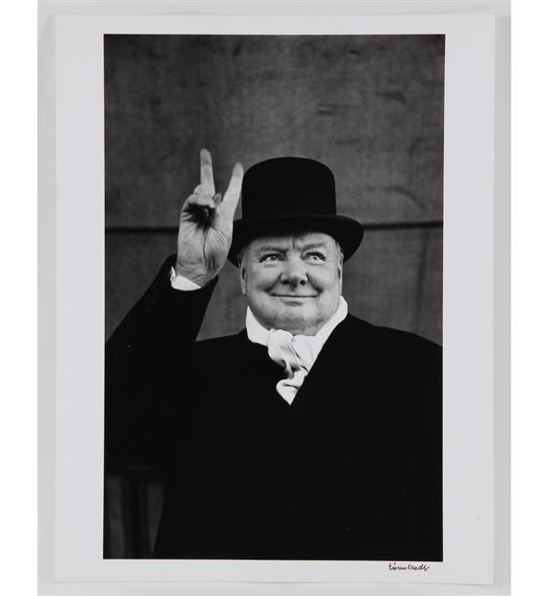Winston Churchill photograph by Alfred Eisenstaedt from LIFE Gallery of Photography