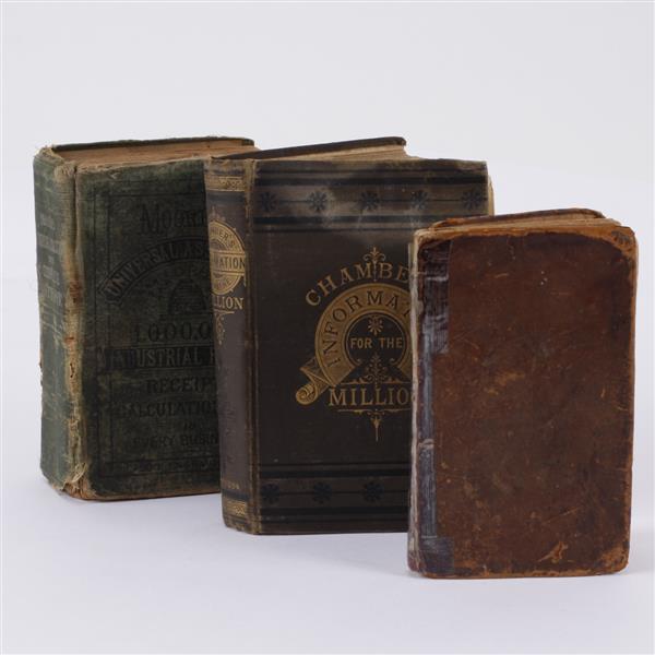 Lot of 3 books; Incl. Thomas Hubbard.