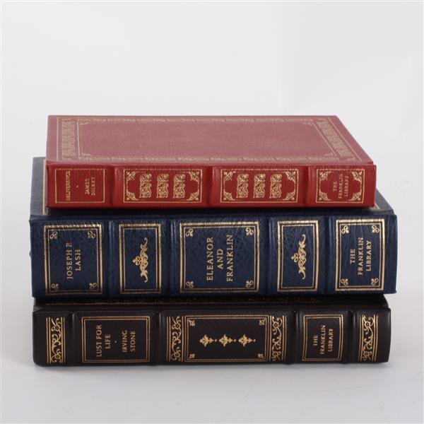 Lot of 3 books; James Dickey, Joseph P. Lash, & Irving Stone.