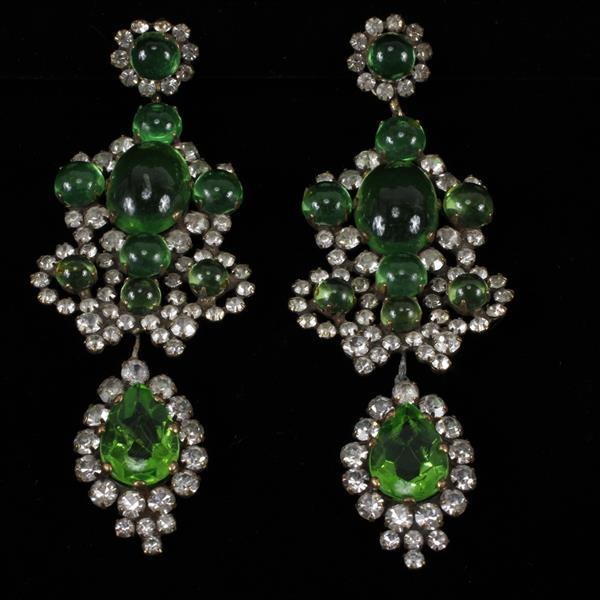 Kenneth J. Lane (KJL) Clip Earrings