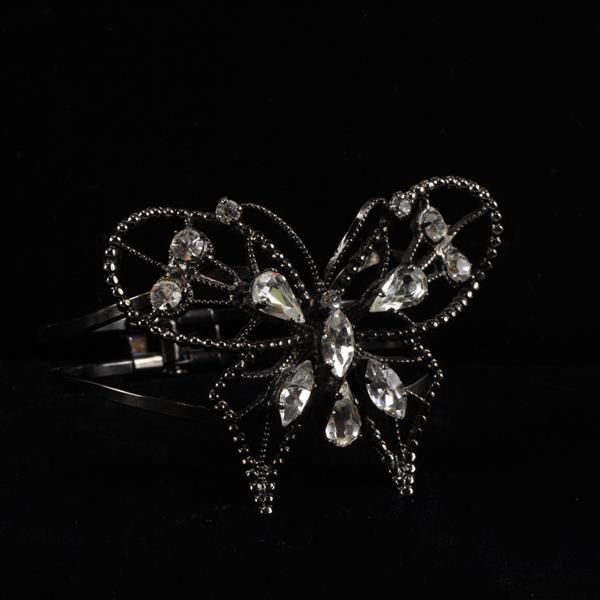Schreiner Butterfly Rhinestone Bracelet