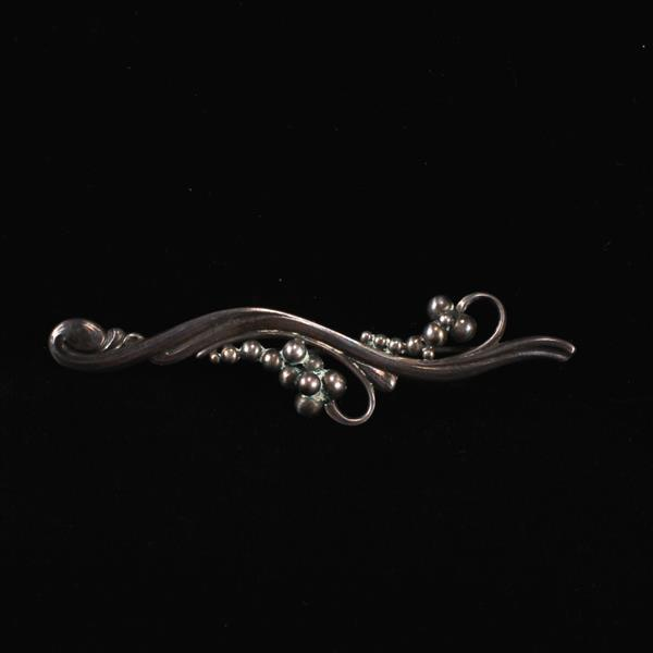 Georg Jensen Denmark Sterling Silver Brooch Pin