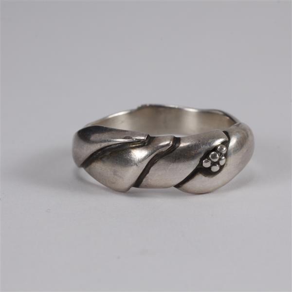 Georg Jensen Denmark Sterling Silver Ring