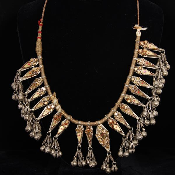 Afghan Kuchi? Middle Eastern Tribal Bib Necklace.