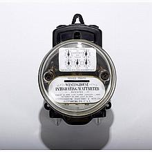Antique Westinghouse Integrating Wattmeter