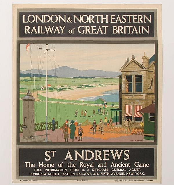H.G. Gawthorn Poster London & Northeastern Rail