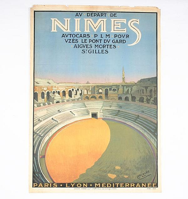 Broders: Mont-Blanc  &  Lelee: Nimes Travel Posters