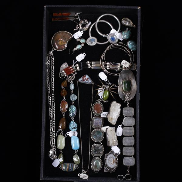 Sterling silver modernist and designer jewelry featuring dru for Silver jewelry repair indianapolis