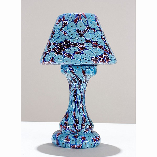 Millefiori lamp, probably by Fratelli Toso.
