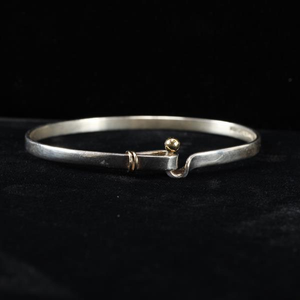 Tiffany & Co. Sterling Silver & Gold Bracelet