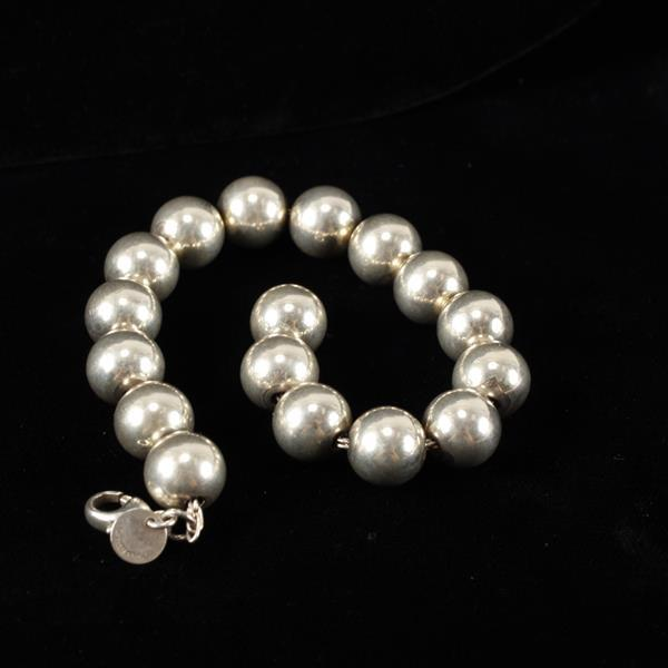 Tiffany & Co. Sterling Silver Ball Bracelet