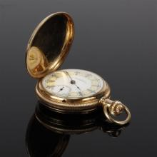 Geo. W. Ryder, San Jose, California, gold filled hunter case pocket watch.