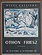 Achille Emile Othon Friesz, (1879 - 1949), Winter scene, Oil on canvas., 23 1/2