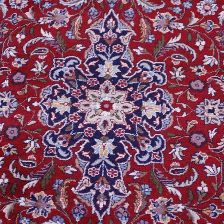 Modern Handmade Persian Estate Rug Ca 1980