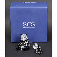 Swarovski Crystal Society (SCS) Endangered Wildlife Series 2008: Pandas.
