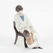 Bing & Grondahl (B&G) Mother and Child porcelain figure group; 1642.