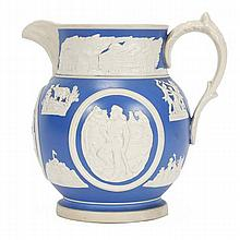 The Chicago Pitcher by Copeland Spode, designed by Frank E. Burley.
