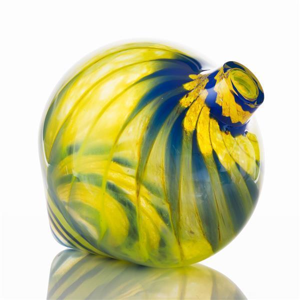 Kathleen Mulcahy, (born 1952), Golden Spinner; 1993, Blown glass, H 22