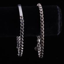 Tiffany & Co. 2pc. Sterling Silver Bracelets