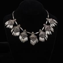 Unmarked Tribal Silver Necklace