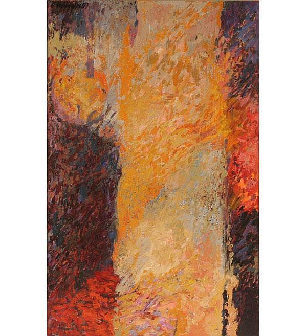 Charles Reddington Abstract Oil Pollock Rothko