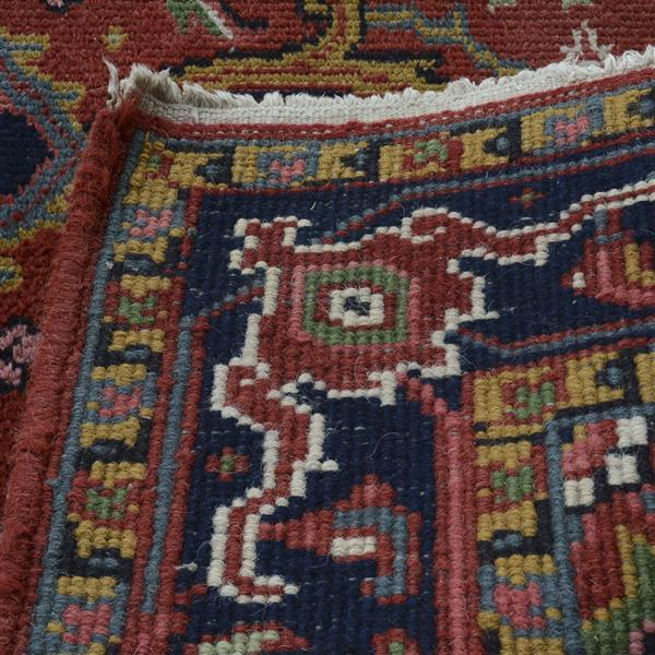 Two Handmade Imported India Indo Persian Oriental Rugs, Circ