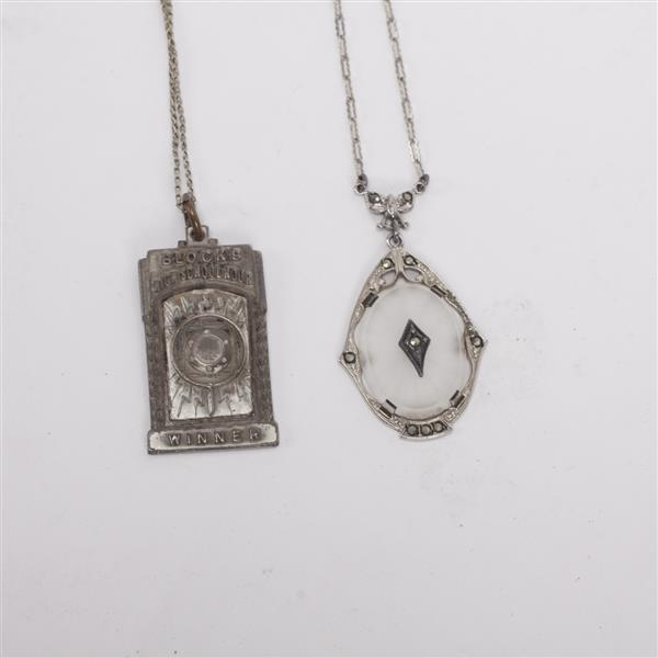 Estate collection of antique victorian and art deco jewelry for Silver jewelry repair indianapolis