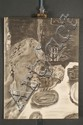 Pierre Bonnard, French; (1867 - 1947)., Jeune fille dans une barque, Lithograph., 13 7/8