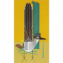 Charley Harper, American (1922-2007), Tall Tail (1974), Screenprint on paper, 24
