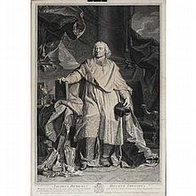 Portrait of Jacobus Benignus Bossuet Episcopus; French Roman Catholic prelate, Bishop of Meaux,