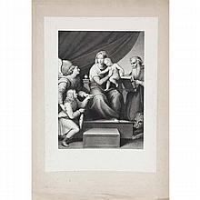 Two European 19th Century engravings after Raphael;