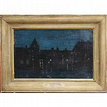 James Abbott McNeill Whistler, (1834 - 1903), Nocturne, oil on canvas, 10