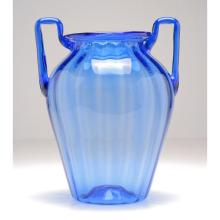 Venini Murano soffiati art glass vase, in the style of Martinuzzi.