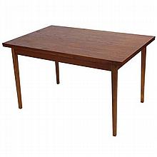 Sejling Skabe Danish modern rosewood extension dining table.