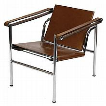 Le Corbusier Basculant armchair for Cassina; ca. 1980s