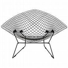 Bertoia large diamond lounge chair for Knoll.